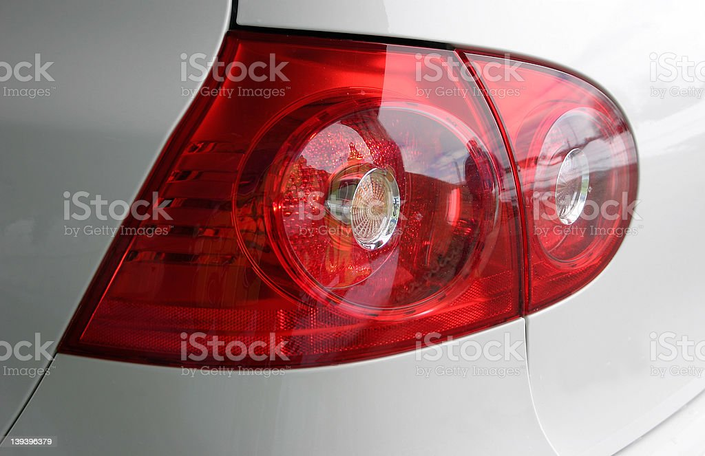 tail light royalty-free stock photo