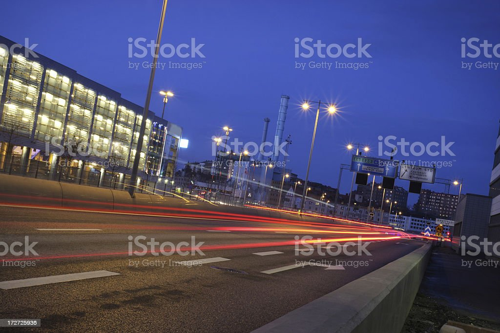 Tail Lights royalty-free stock photo