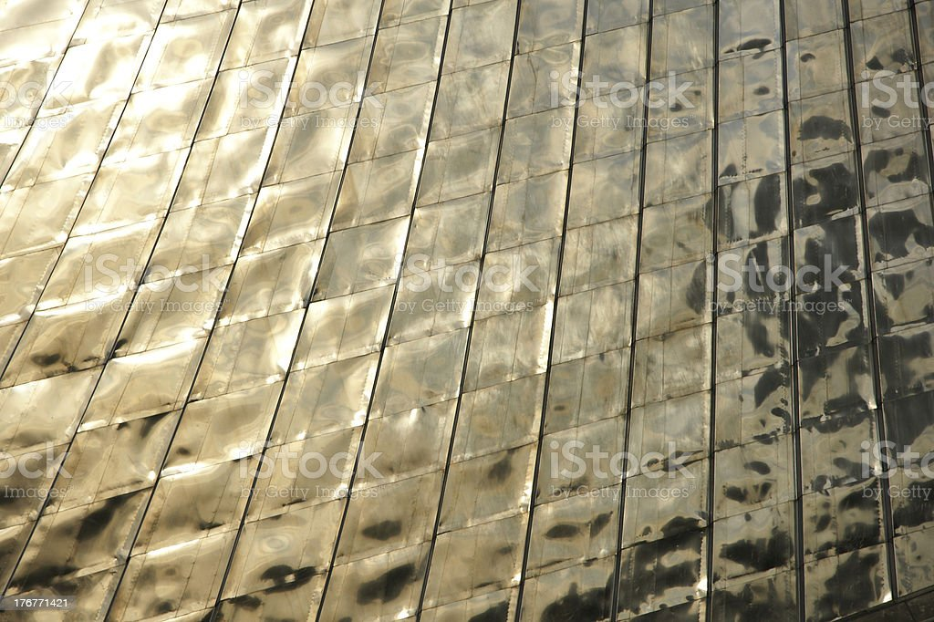 Tailed gold metal texture royalty-free stock photo
