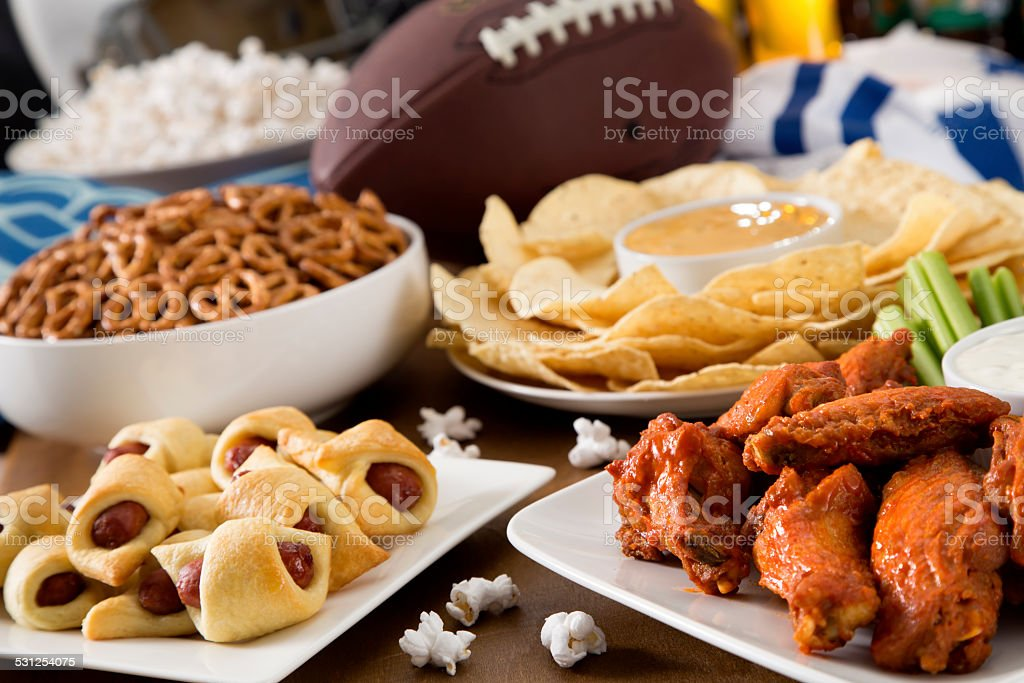 Tailgate Food stock photo
