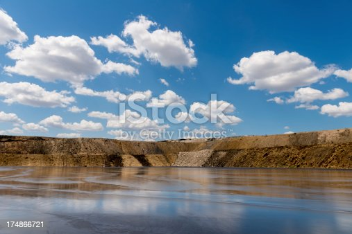 Tailings Dam contains the leftovers from the mining process