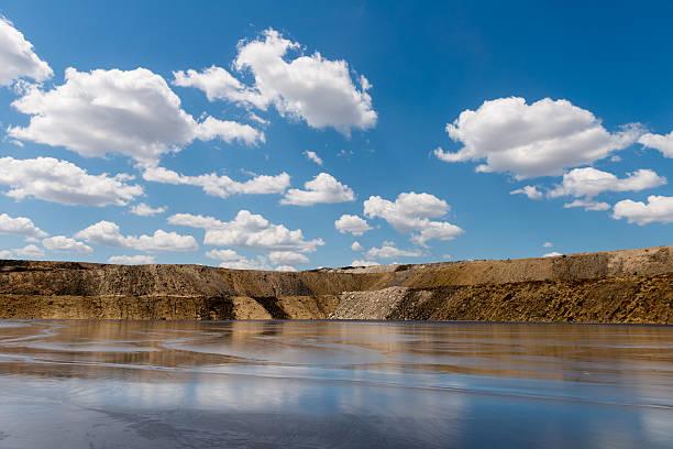 Tailings Damm auf Mine – Foto