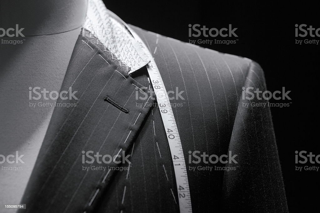 Tailor closeup stock photo