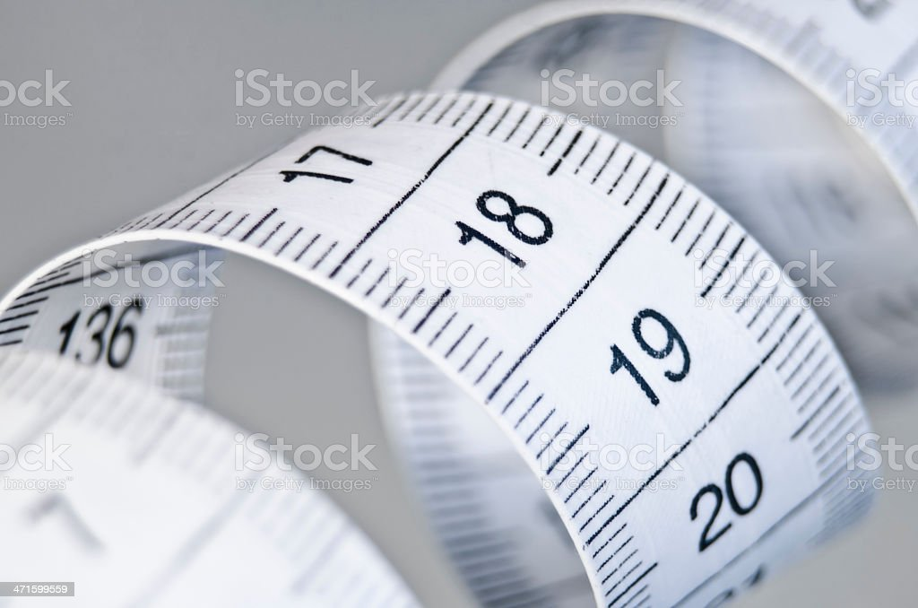 tailor measurement tape stock photo