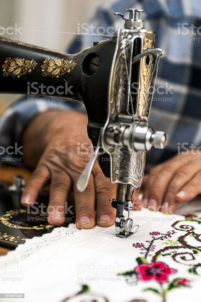 Tailor royalty-free stock photo