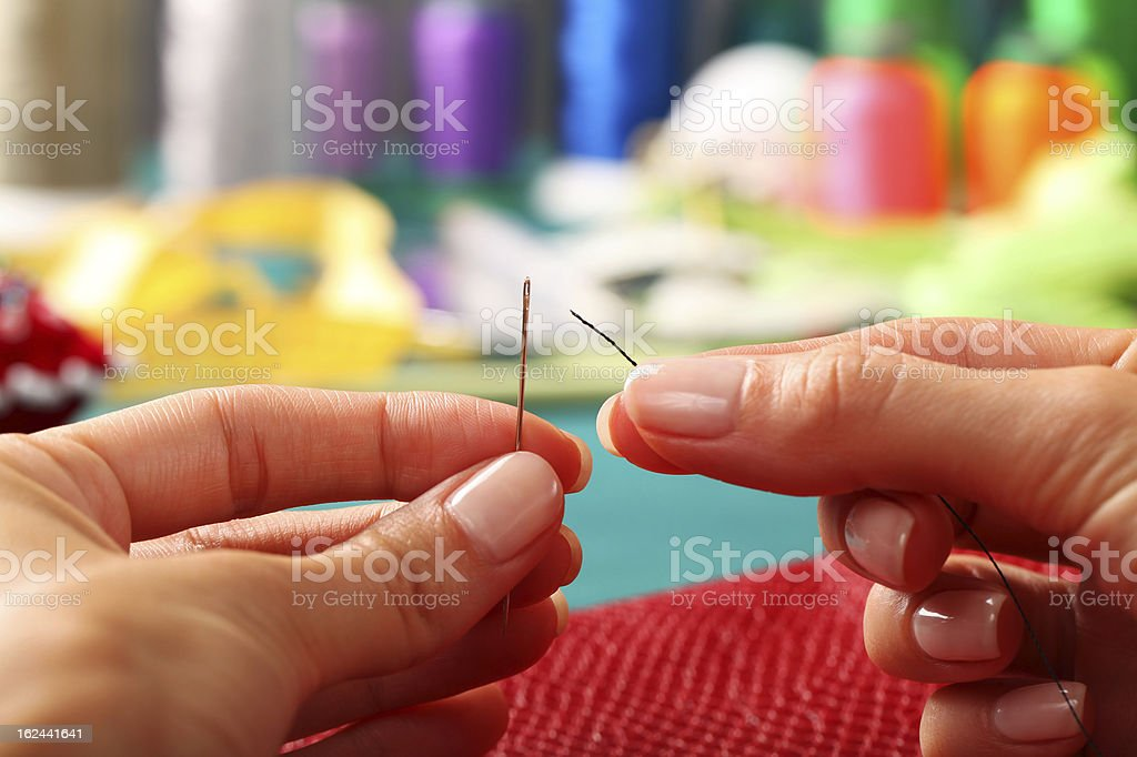 Tailor - Sewing royalty-free stock photo