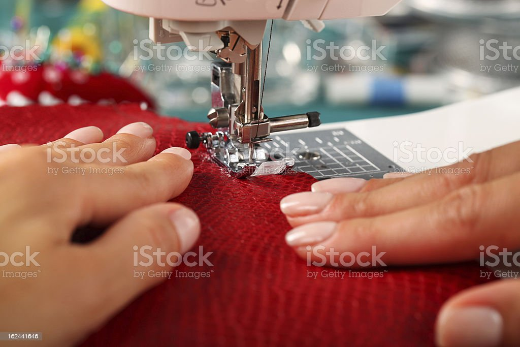 Tailor - Sewing stock photo