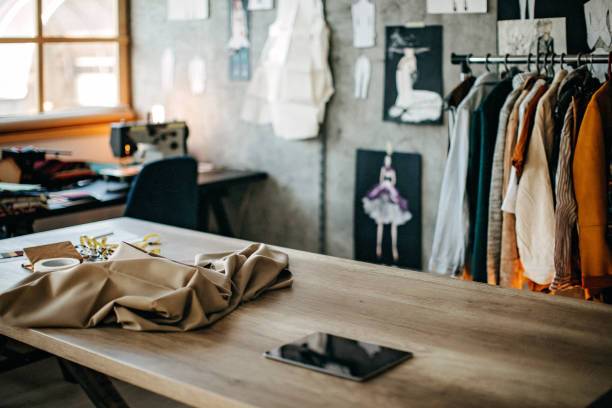 Tailor studio stock photo