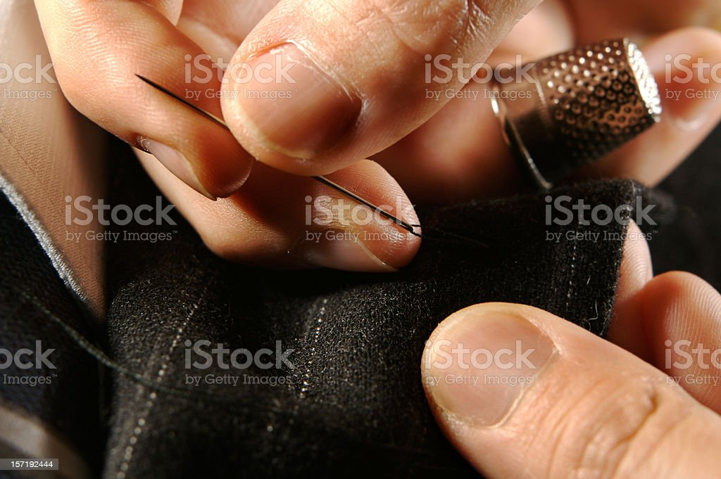 Tailored business suit royalty-free stock photo