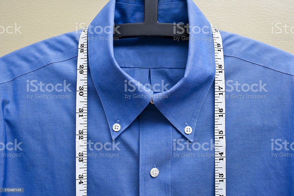 Tailored clothes royalty-free stock photo