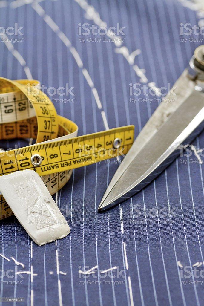 Taglio sartoriale - foto stock