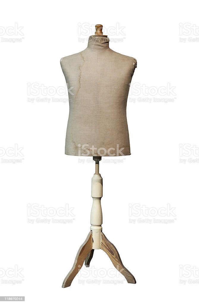 Tailors dummy mannequin stock photo