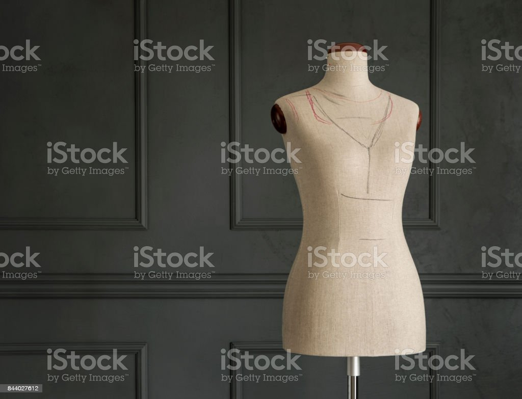 Tailor's mannequin stock photo