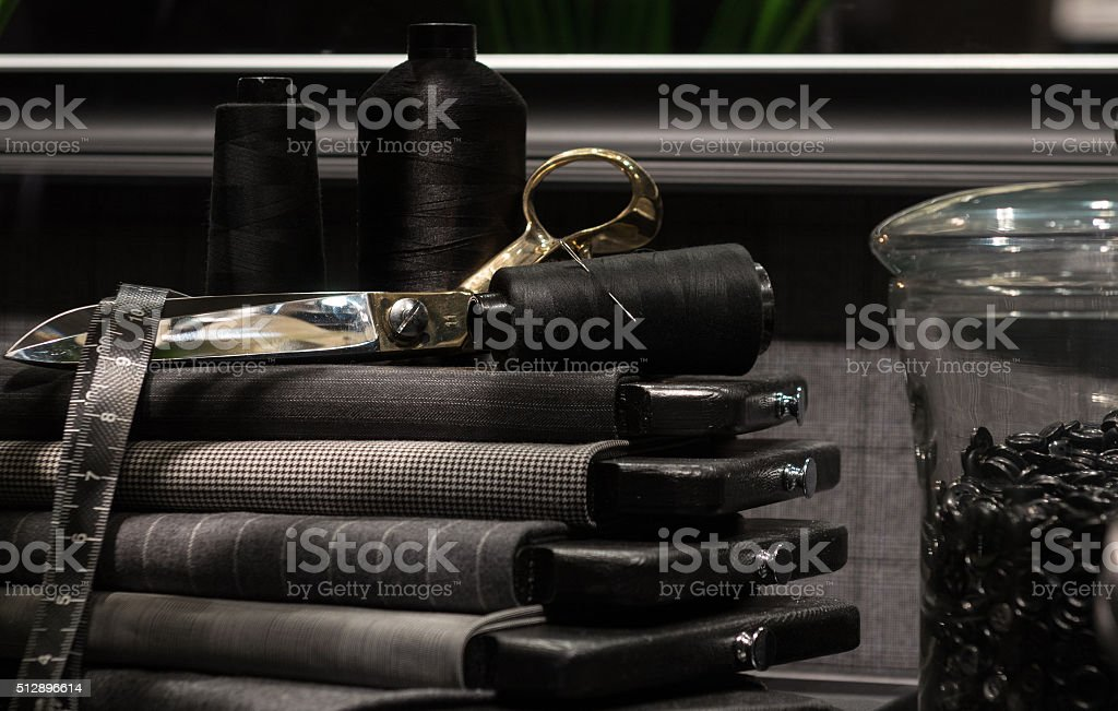 Tailors Scene stock photo