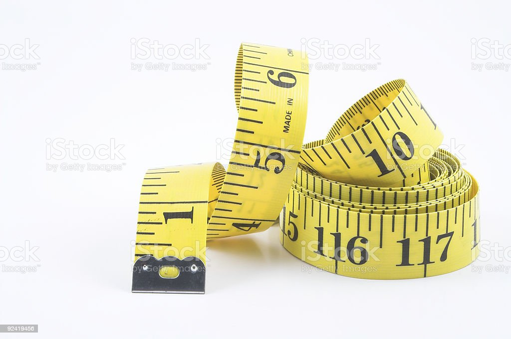 Tailor's tape royalty-free stock photo