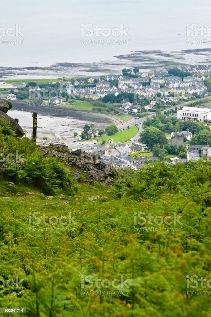 Tain Way over Carlingford stock photo