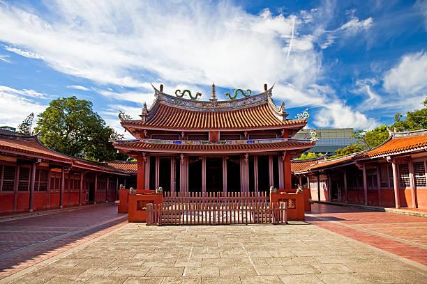 Tainan Confucius Temple, Taiwan stock photo