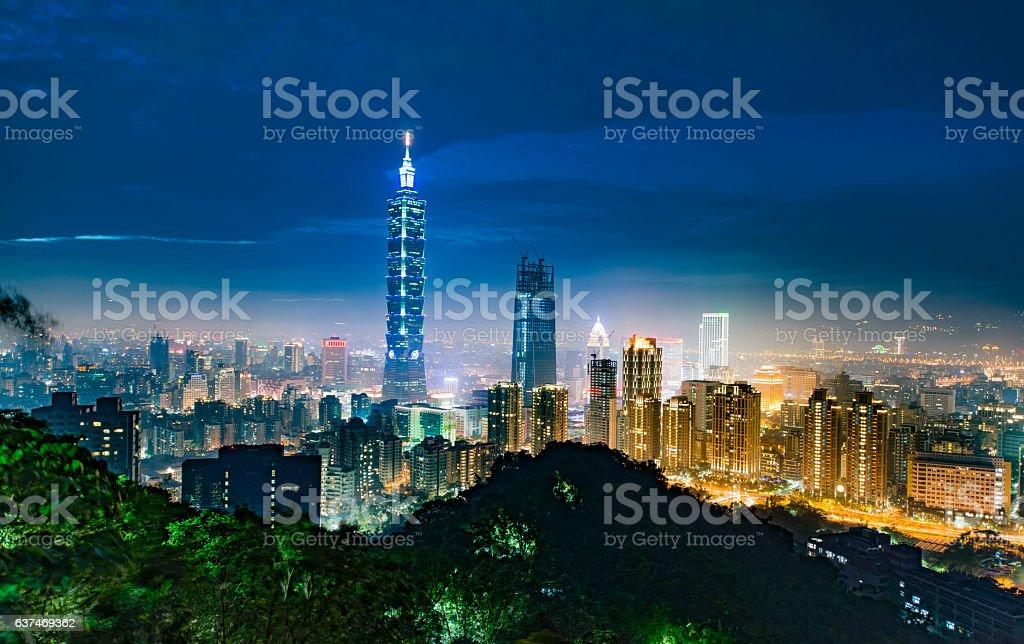 Taipei Taiwan stock photo