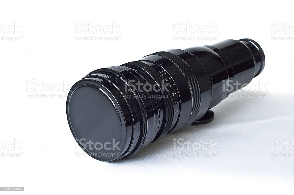 Tair-3. Soviet lens. Grand Prix Brussel 1958 royalty-free stock photo