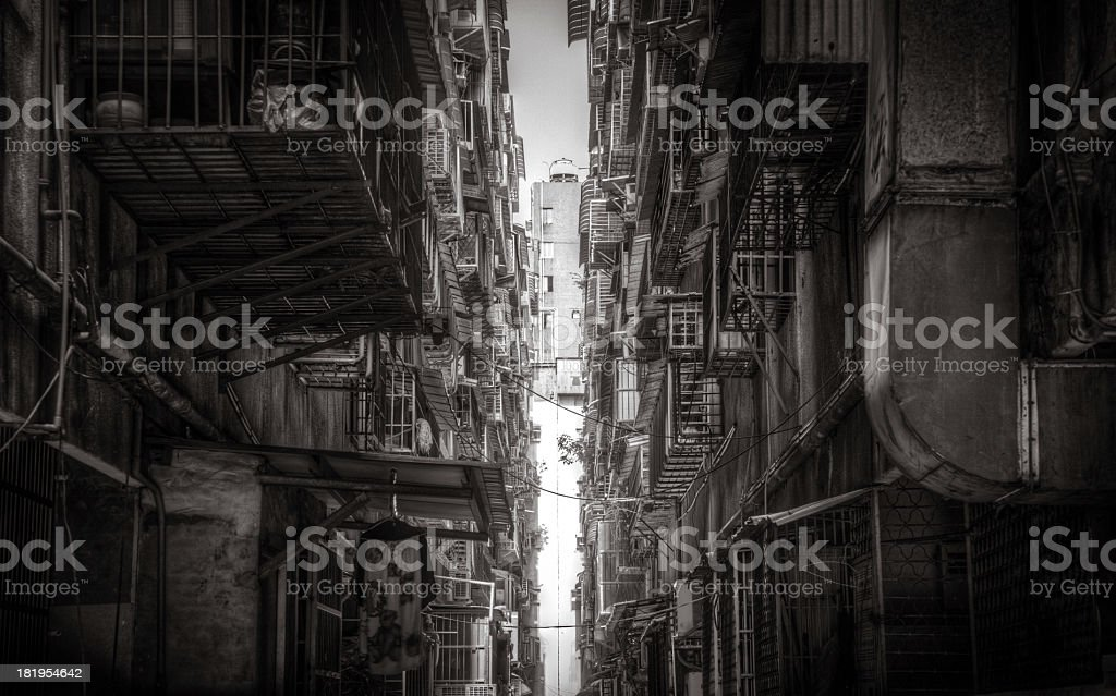 Taiwan Alley stock photo