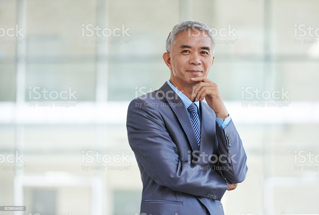 Taiwan businessman stock photo