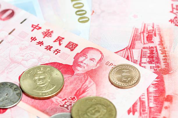 taiwan-dollar - pengpeng stock-fotos und bilder