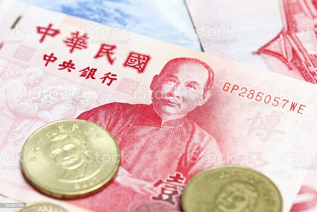 Taiwan Dollar stock photo