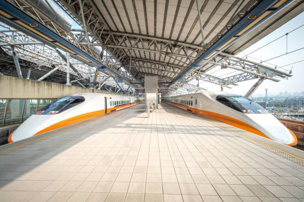 Taiwan Hochgeschwindigkeitszüge. – Foto