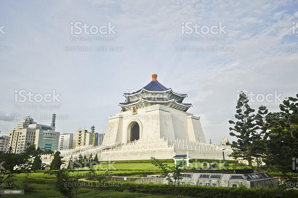 CKS Taiwan independence hall stock photo