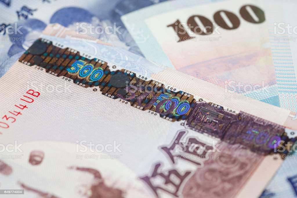 Taiwanese Currency New Taiwan Dollar Stock Photo More Pictures Of