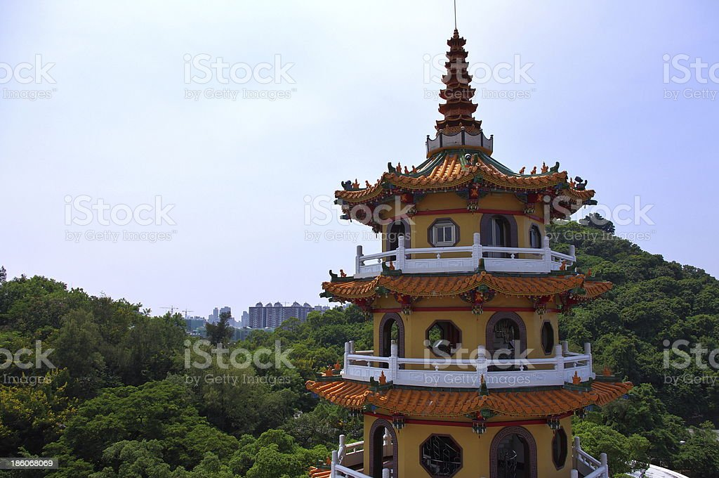 Taiwanese temple stock photo