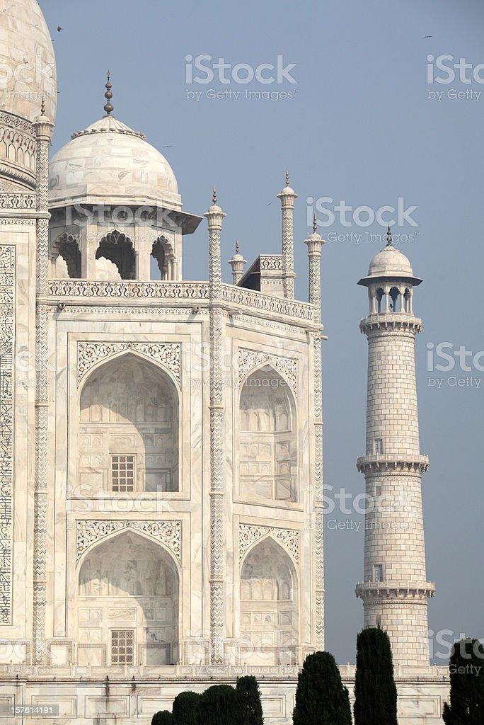 Taj in the morning royalty-free stock photo