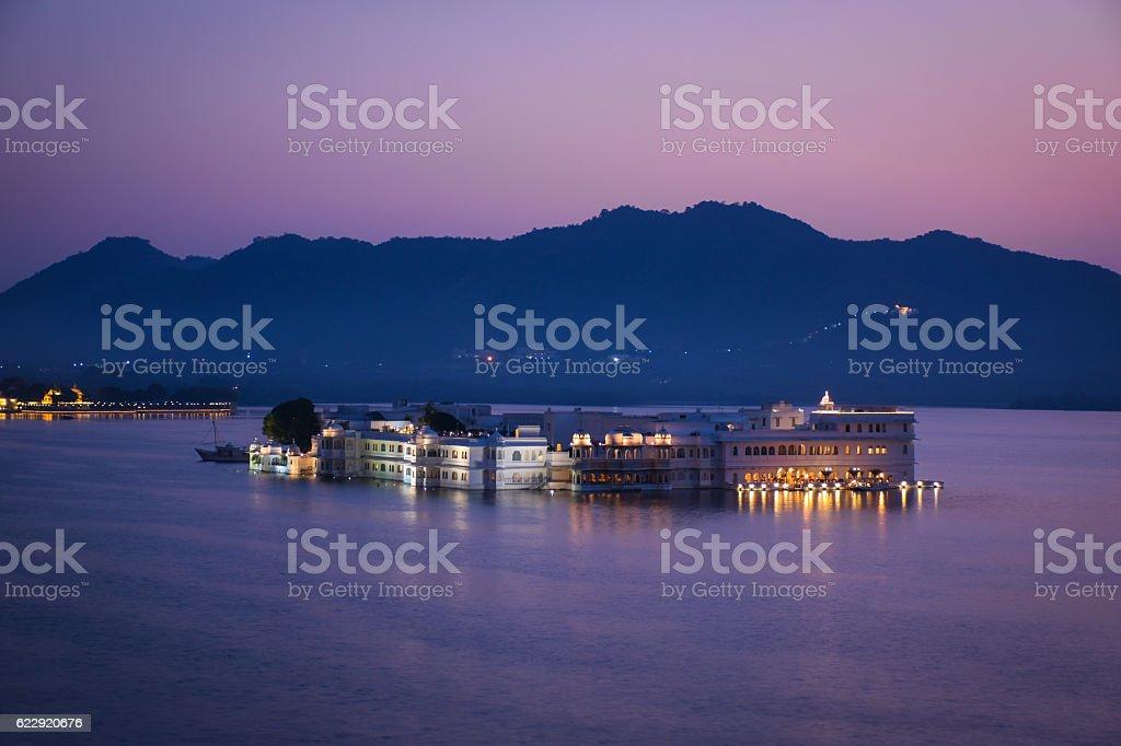 Taj Lake Palace Hotel Udaipur India stock photo