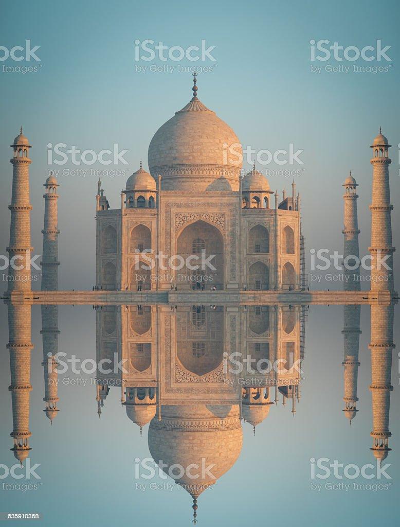 Taj Maha stock photo