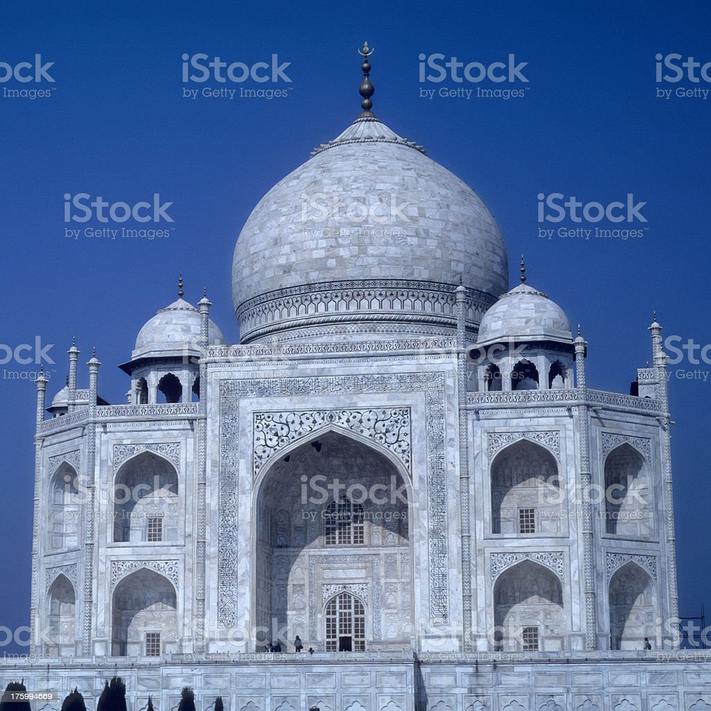 Taj Mahal 1 royalty-free stock photo