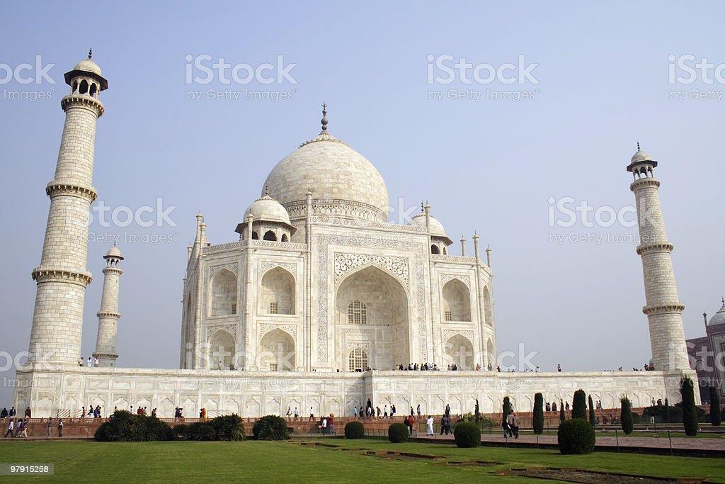 Taj Mahal 2 royalty-free stock photo