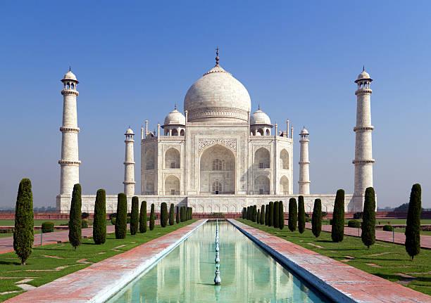 Taj mahal, A monument of love, stock photo