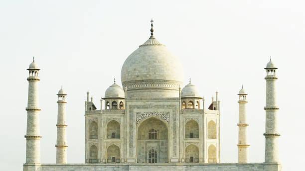 Taj Mahal, Agra, india, no people. Taj Mahal in sunny day, india, no people. taj mahal stock pictures, royalty-free photos & images