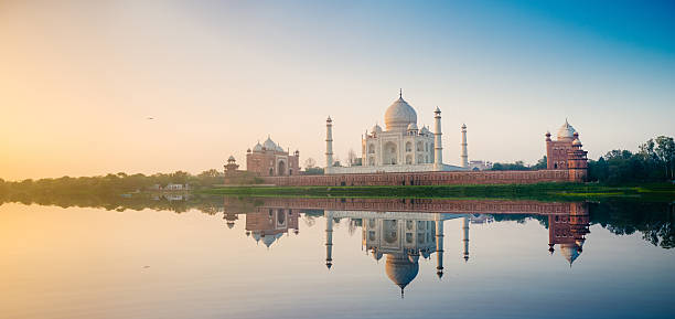taj mahal agra india - india stock pictures, royalty-free photos & images