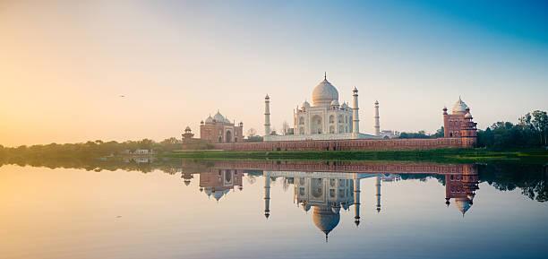 агра тадж-махал индии - индия стоковые фото и изображения