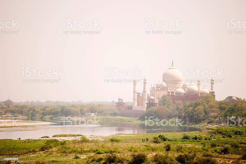 Taj Mahal, Agra, India stock photo