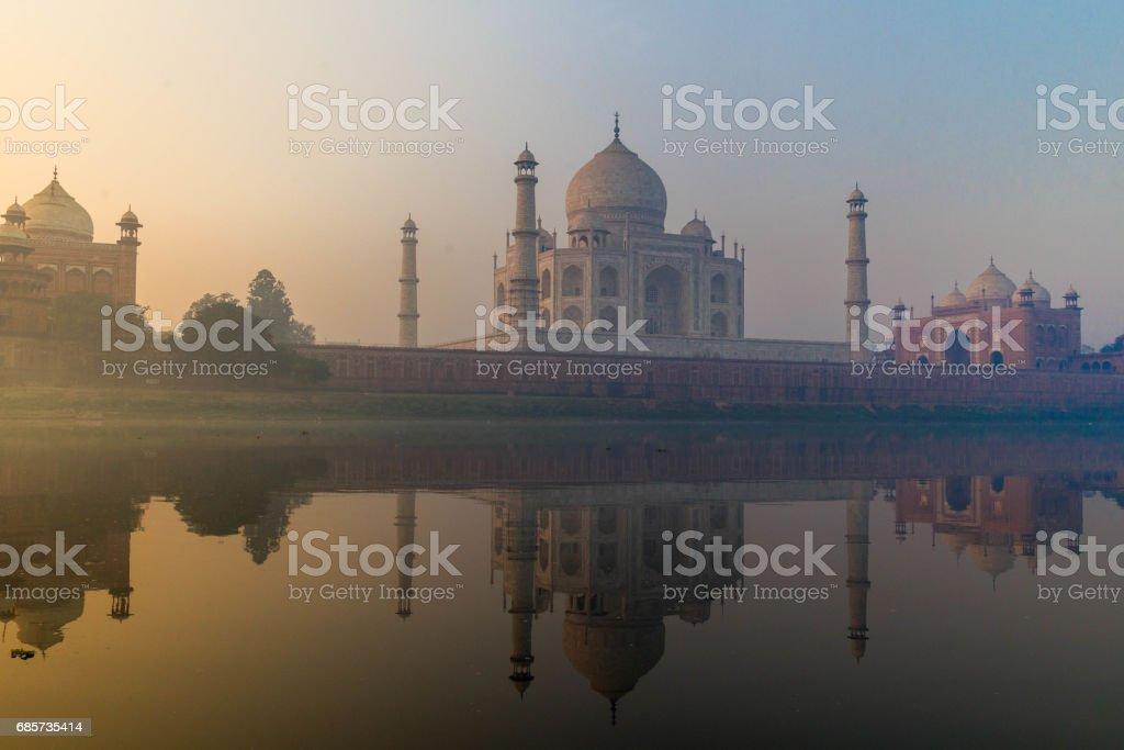 Taj Mahal Agra, India foto de stock royalty-free