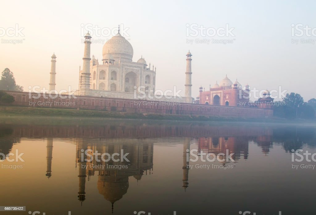 Taj Mahal Agra, India 免版稅 stock photo