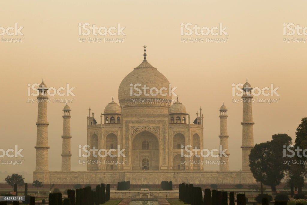 Taj Mahal Agra, India royalty-free stock photo