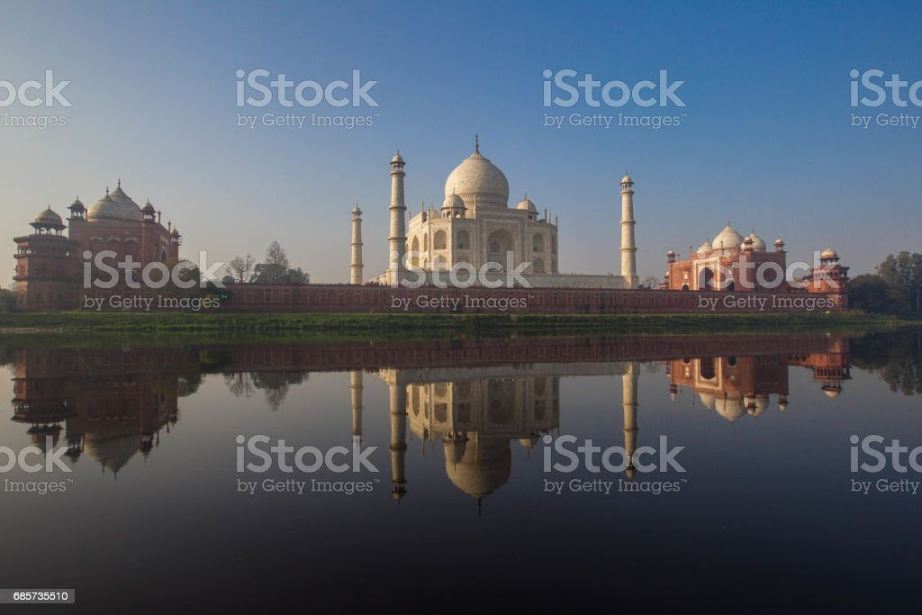 Taj Mahal Agra, India foto de stock royalty-free