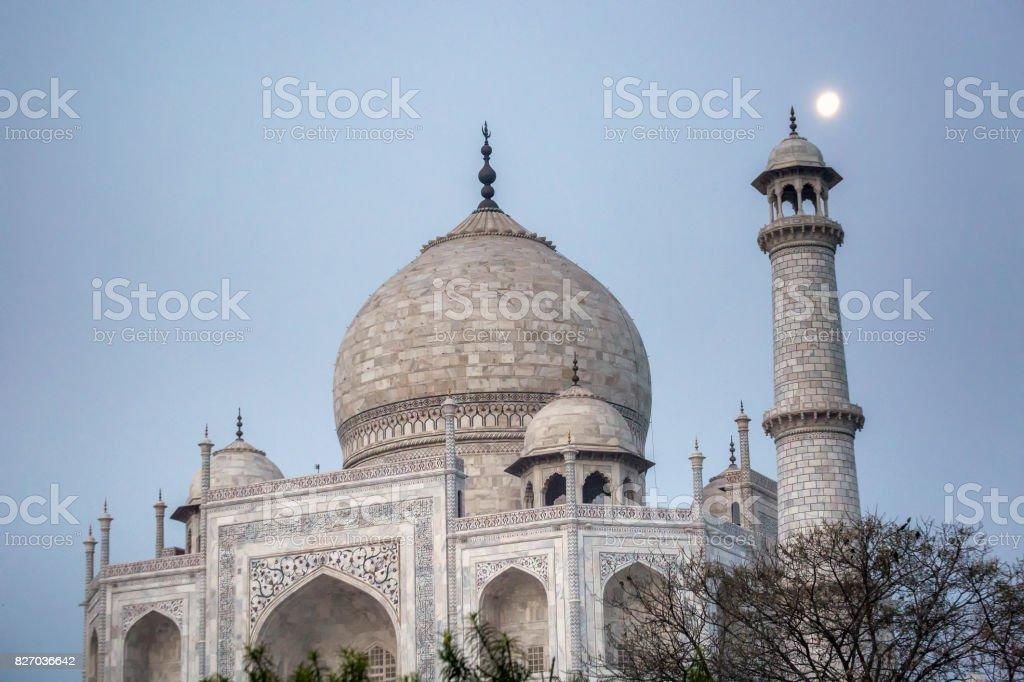 Taj Mahal Agra stock photo