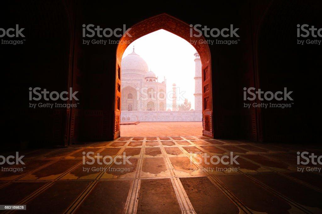 Taj Mahal, Agra, Uttar Pradesh 免版稅 stock photo