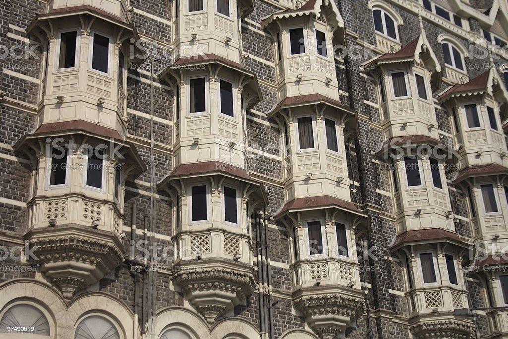 Taj Mahal Hotel royalty-free stock photo