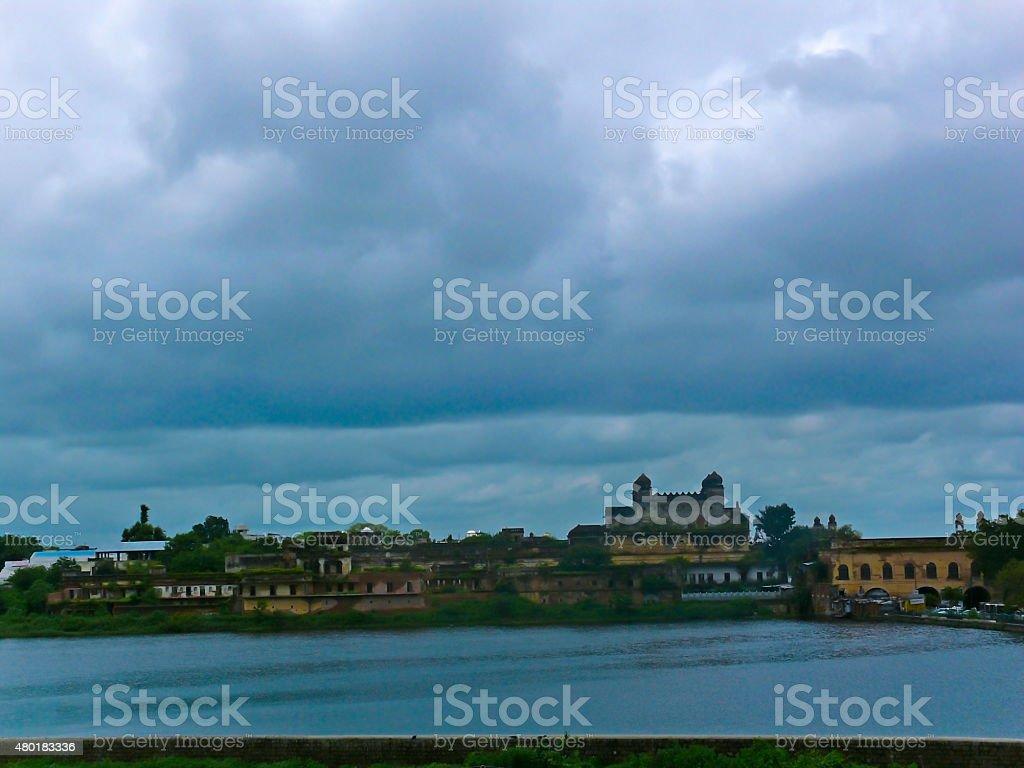 Taj Mahal in Bhopal stock photo