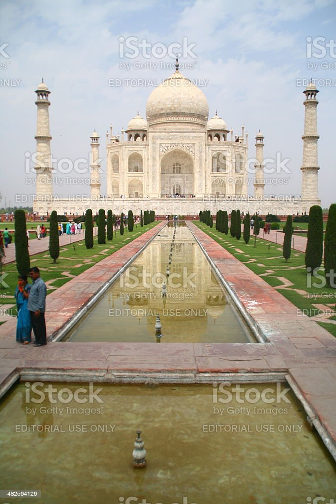 Taj Mahal - India stock photo